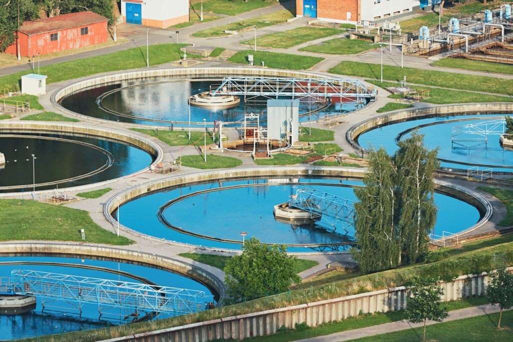 External wastewater treatment plants