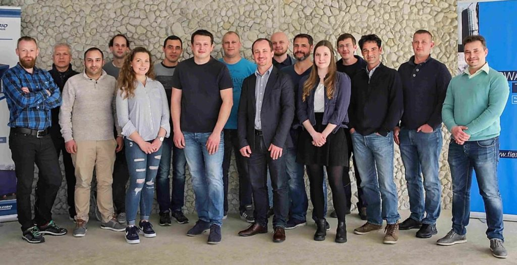 alle Mitarbeiter der FlexBio Technologie GmbH