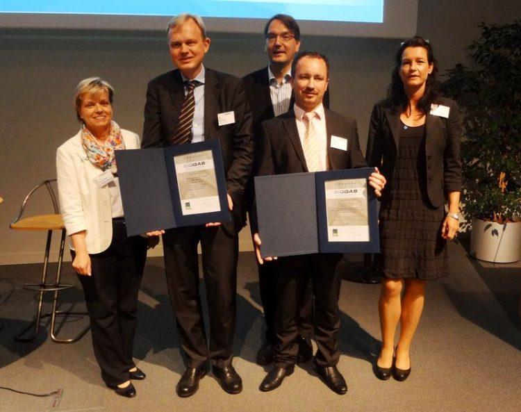 Verleihung des Innovationspreises an die FlexBio Technologie GmbH