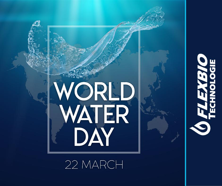 Beitrag Weltwassertag Wasseraufbereitung FlexBio Technologie GmbH